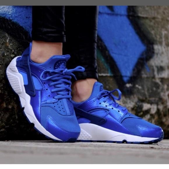 19b02f601b72b ... NIKE blue sparks Air Huarache Run~8. M 5a7fac3c8af1c50c271a7a93